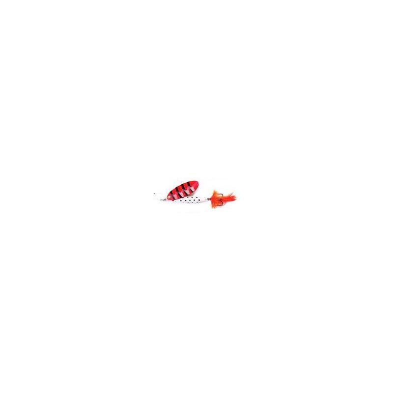 Reflex White 12gr. OR Kjøp 8 spinnere få en gratis slukboks