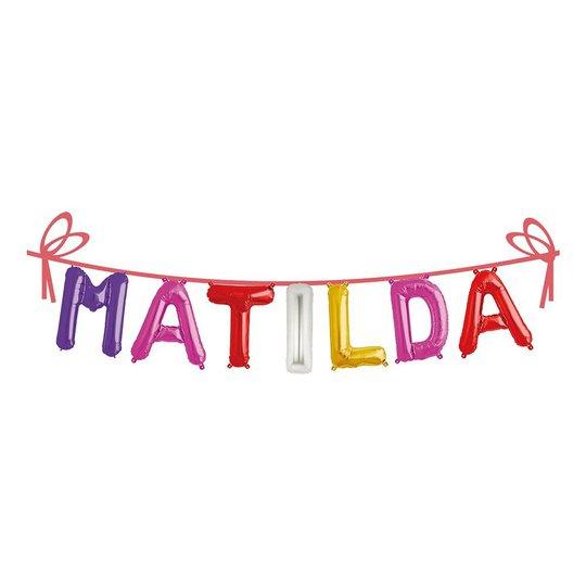 Ballonggirlang Folie Namn - Matilda