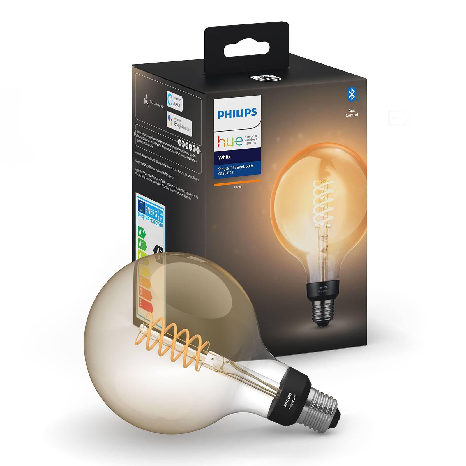 Philips Hue White Giant filament-globepære E27 7W