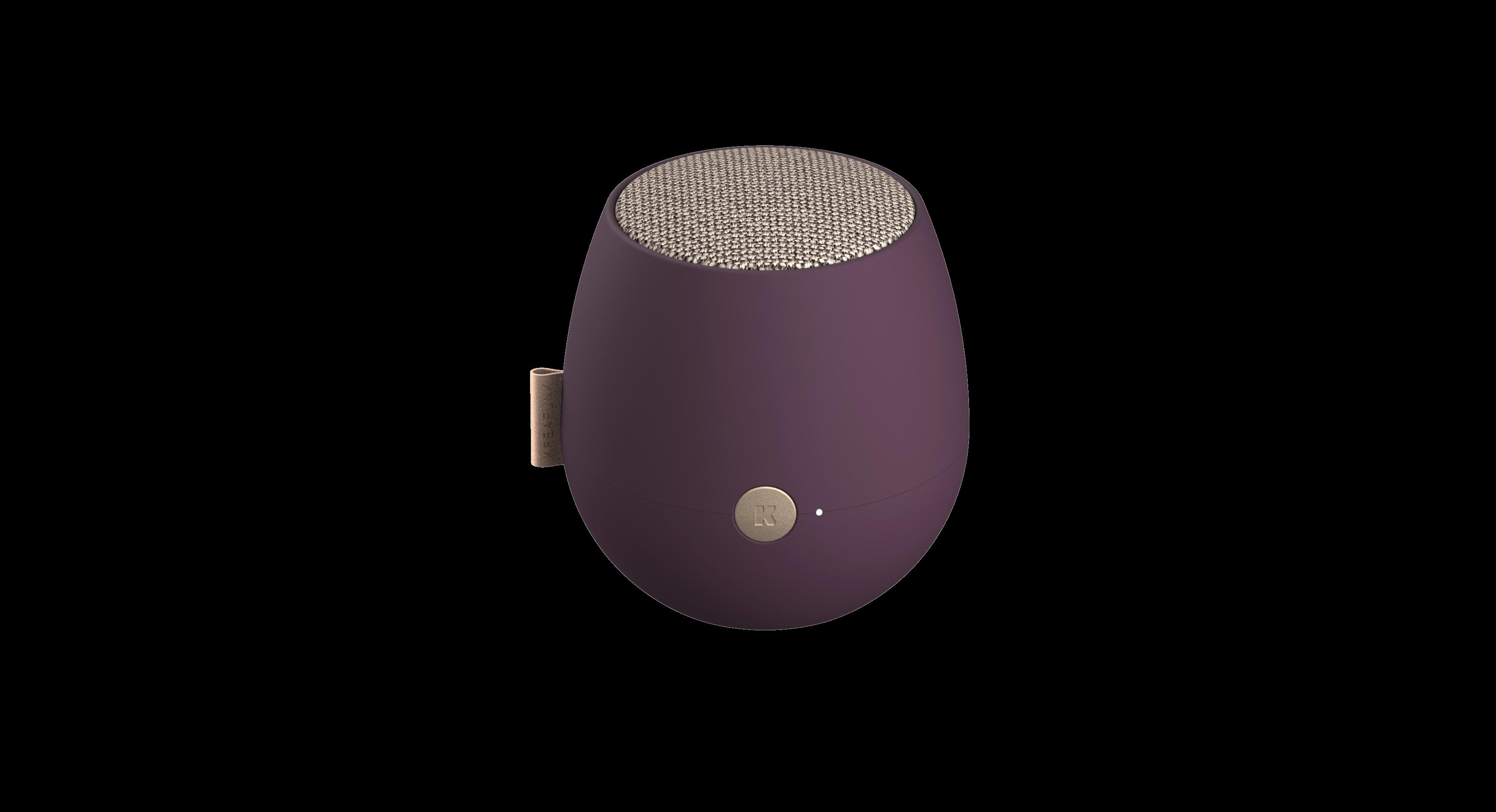 Kreafunk - aJAZZ Bluetooth Speaker - Plum (KFWT65)