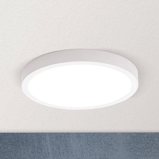 LED-kattovalaisin Vika, pyöreä, valkoinen, Ø 23cm