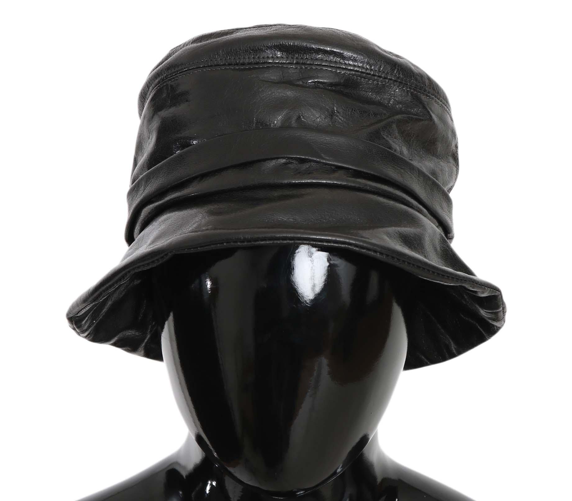 Dolce & Gabbana Women's Hat Black HAT70220 - 56 cm XS