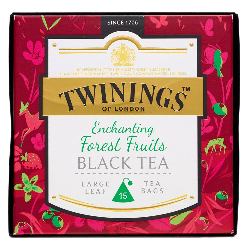 """Musta Tee """"Enchanting Forest Fruits"""" 15-pack - 36% alennus"""