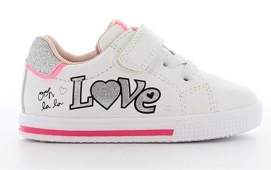 Sprox Sneaker, White/Fuchsia, 20