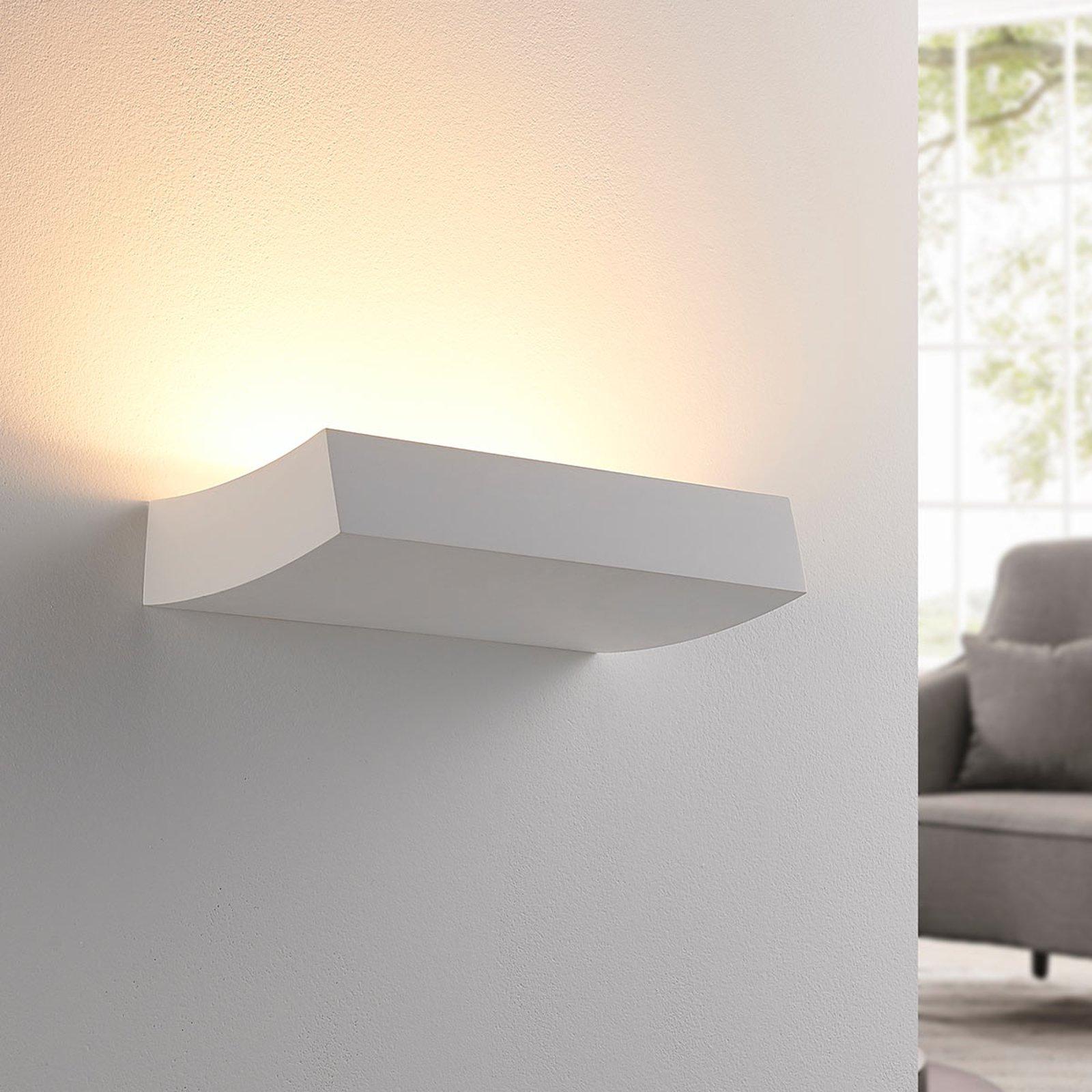 LED-veggspot Dana i gips