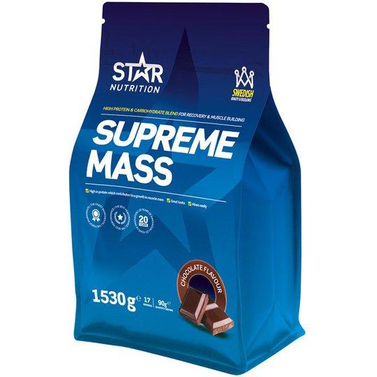 """Proteiinijauhe """"Supreme Mass Chocolate"""" 1,53kg - 33% alennus"""
