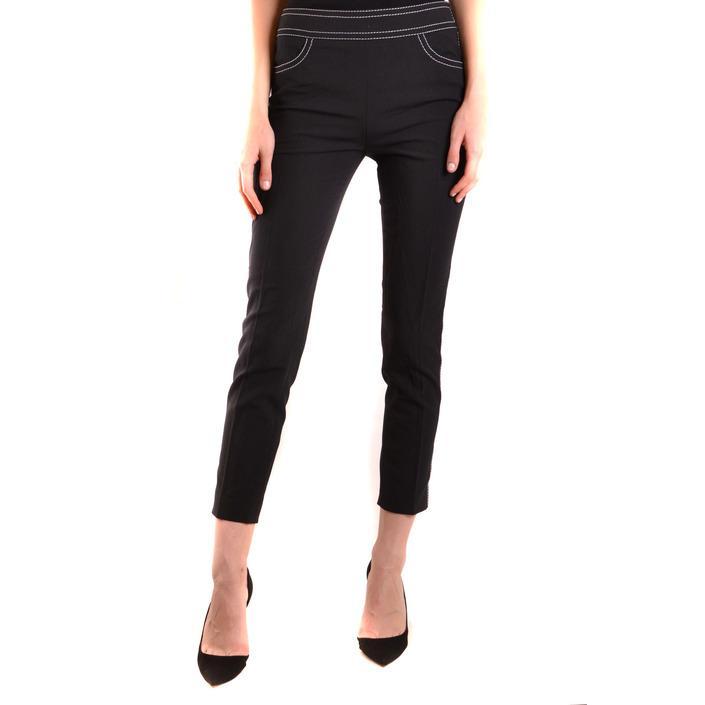 Boutique Moschino Women's Trouser Black 170754 - black 40
