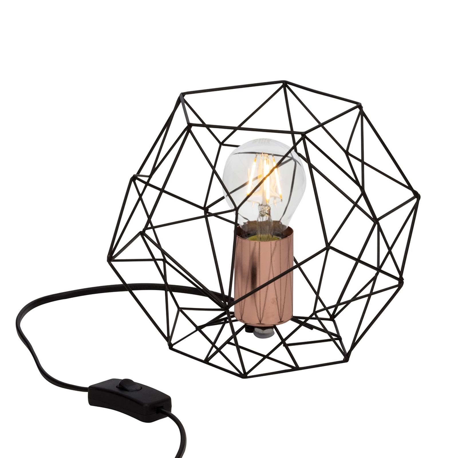 Synergi - interessant utformet bordlampe