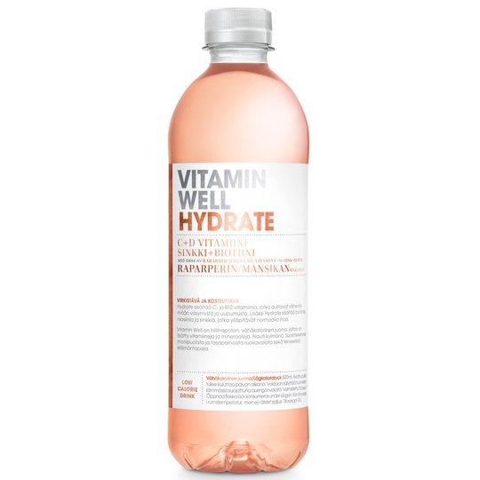 Vitamiinijuoma Raparperi & Mansikka - 59% alennus