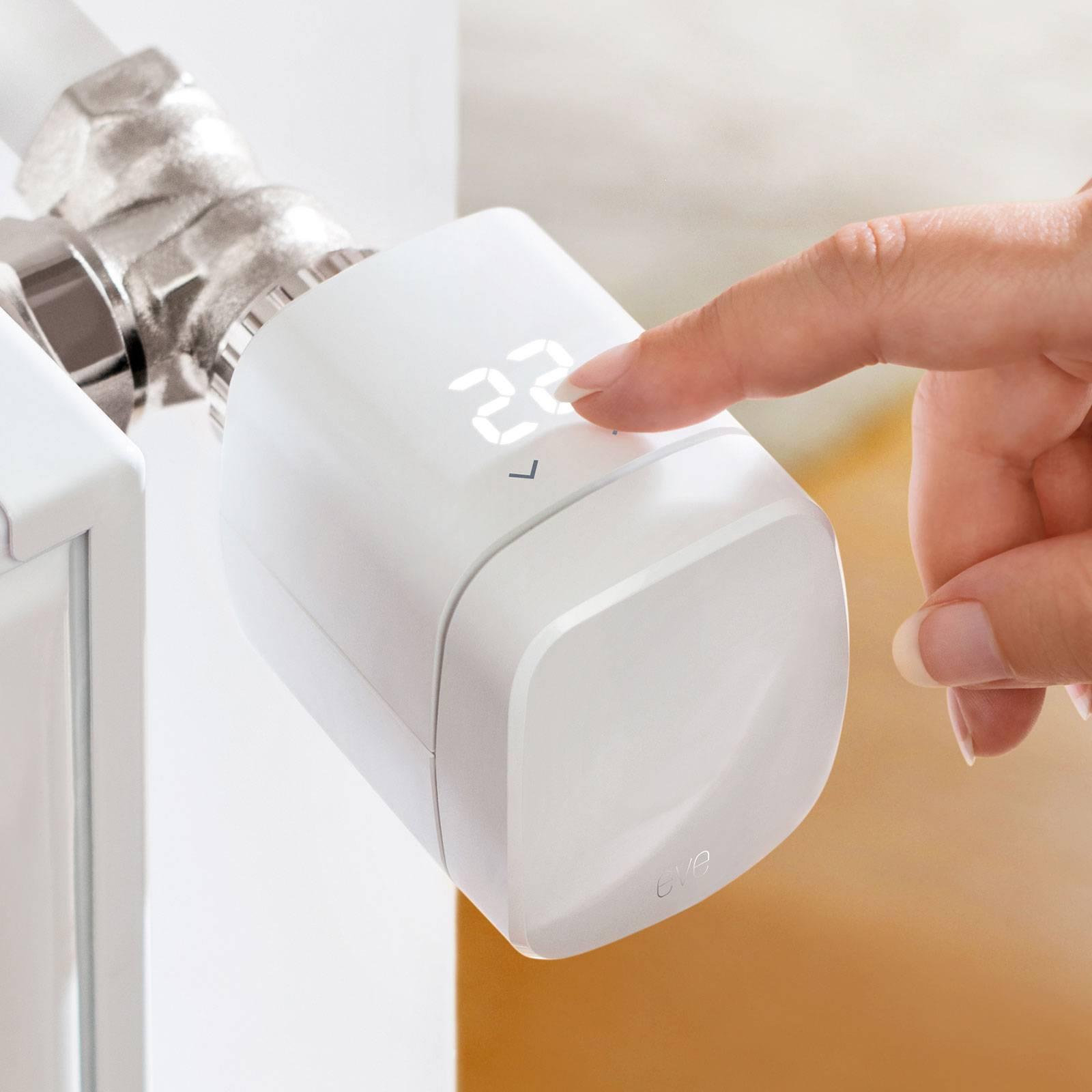 Eve Thermo Smart Home patteritermostaatti