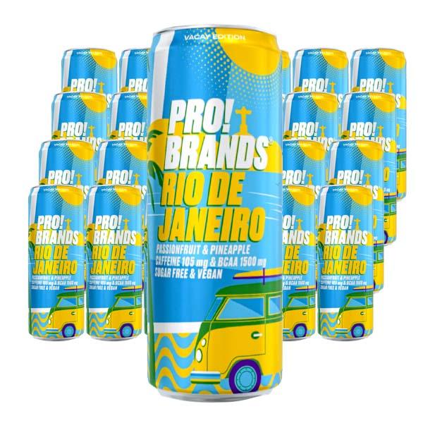 ProBrands BCAA Rio de Janerio 33cl x 24