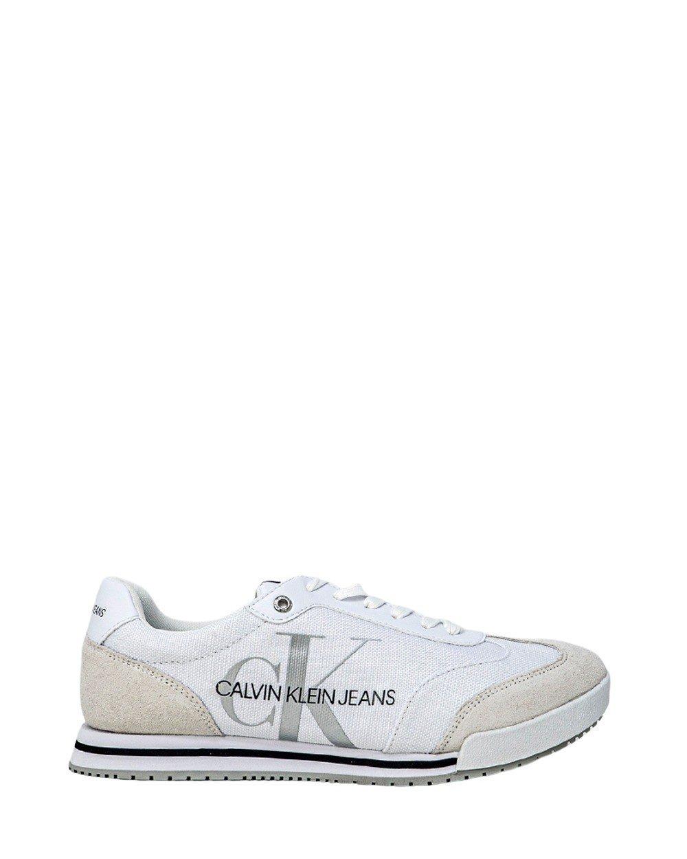Calvin Klein Jeans Men's Trainer Various Colours 249009 - white 44