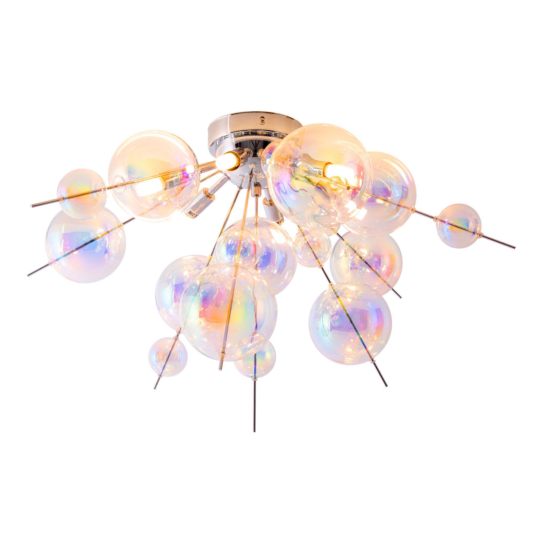Lasinen kattovalaisin Explosion, 6-lamppuinen
