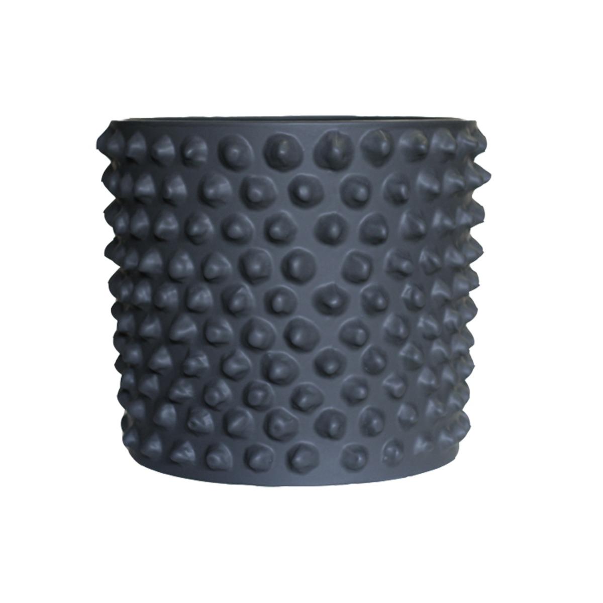 DBKD Pot CLOUDY dark grey M