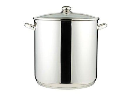 Suppegryte 30 liter 18/8 Rustfritt stål
