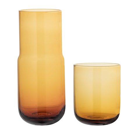Karaffel & Glass Brun