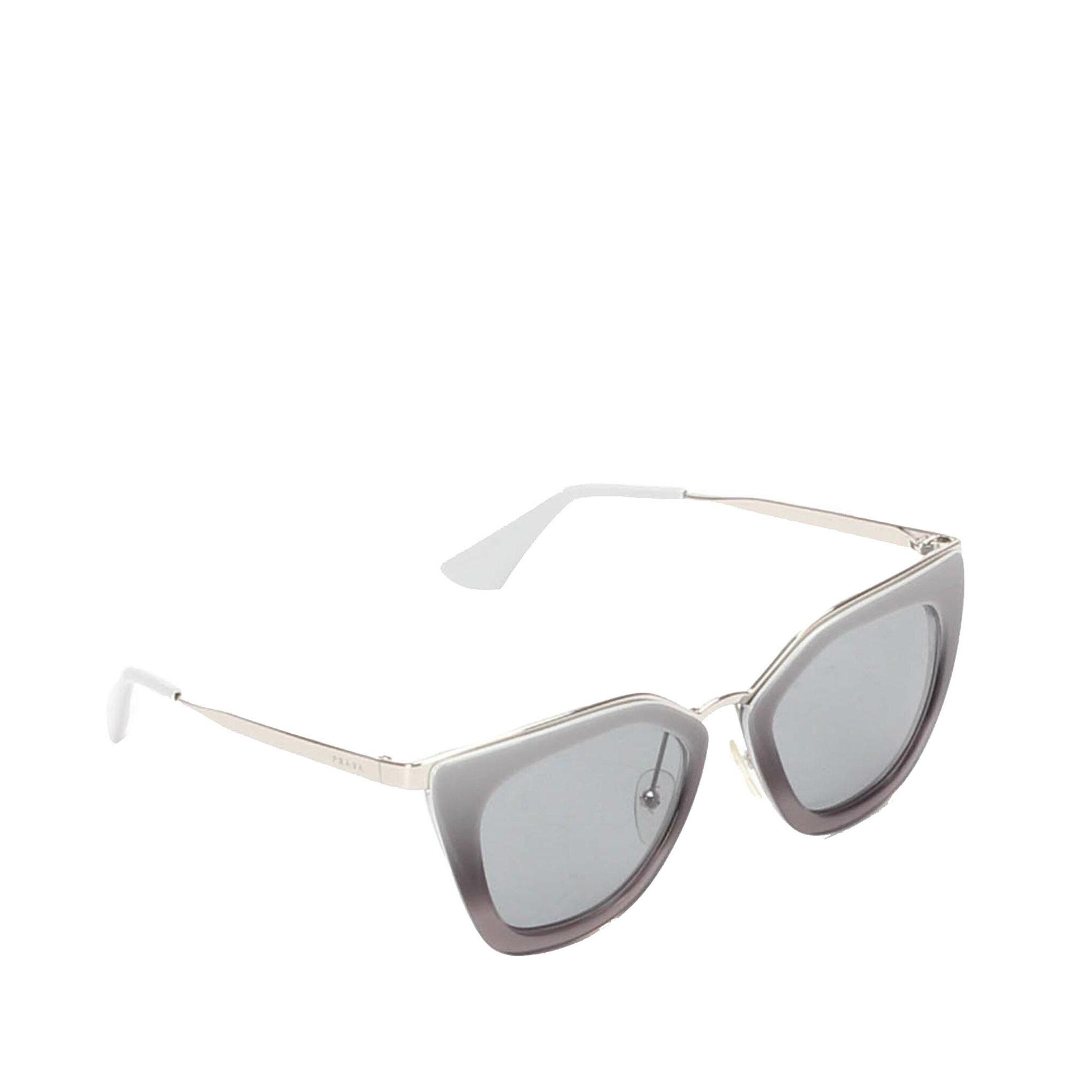 Prada Cat Eye Tinted Sunglasses, ONESIZE
