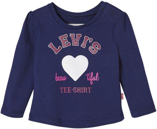 Levi's Kids Beauty T-Skjorte, Bright Blue 3 mån