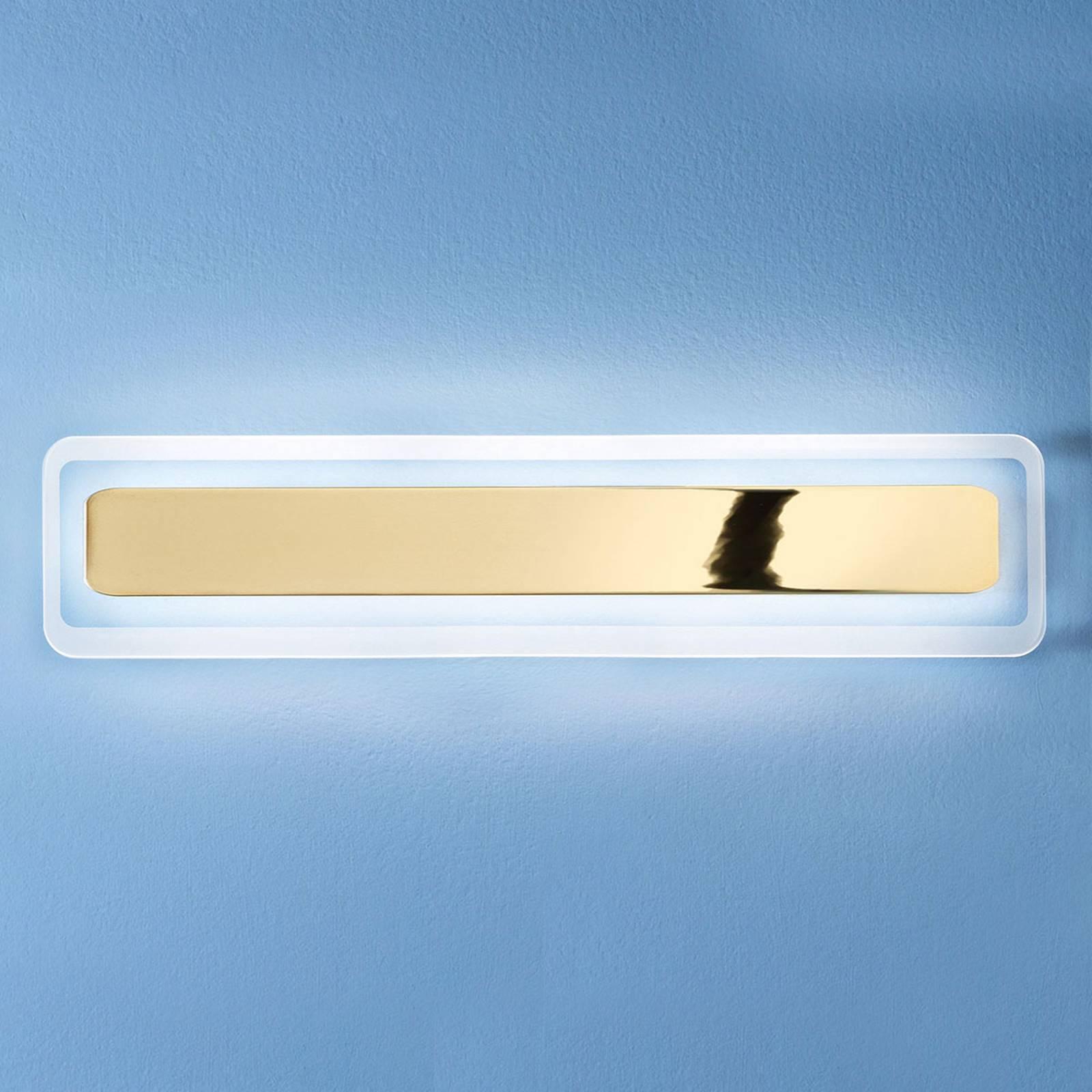 LED-seinävalaisin Antille, kulta, 61,4 cm