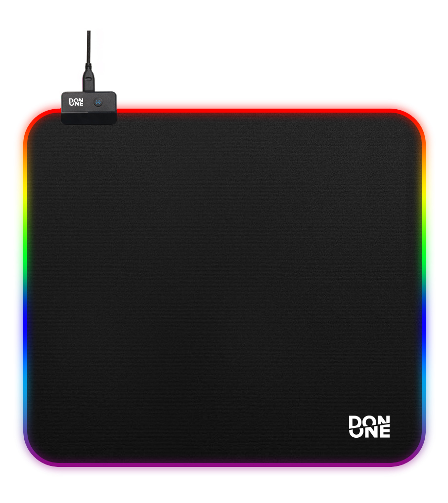 DON ONE - MP450RGB Gaming Mousepad LARGE - Soft Surface