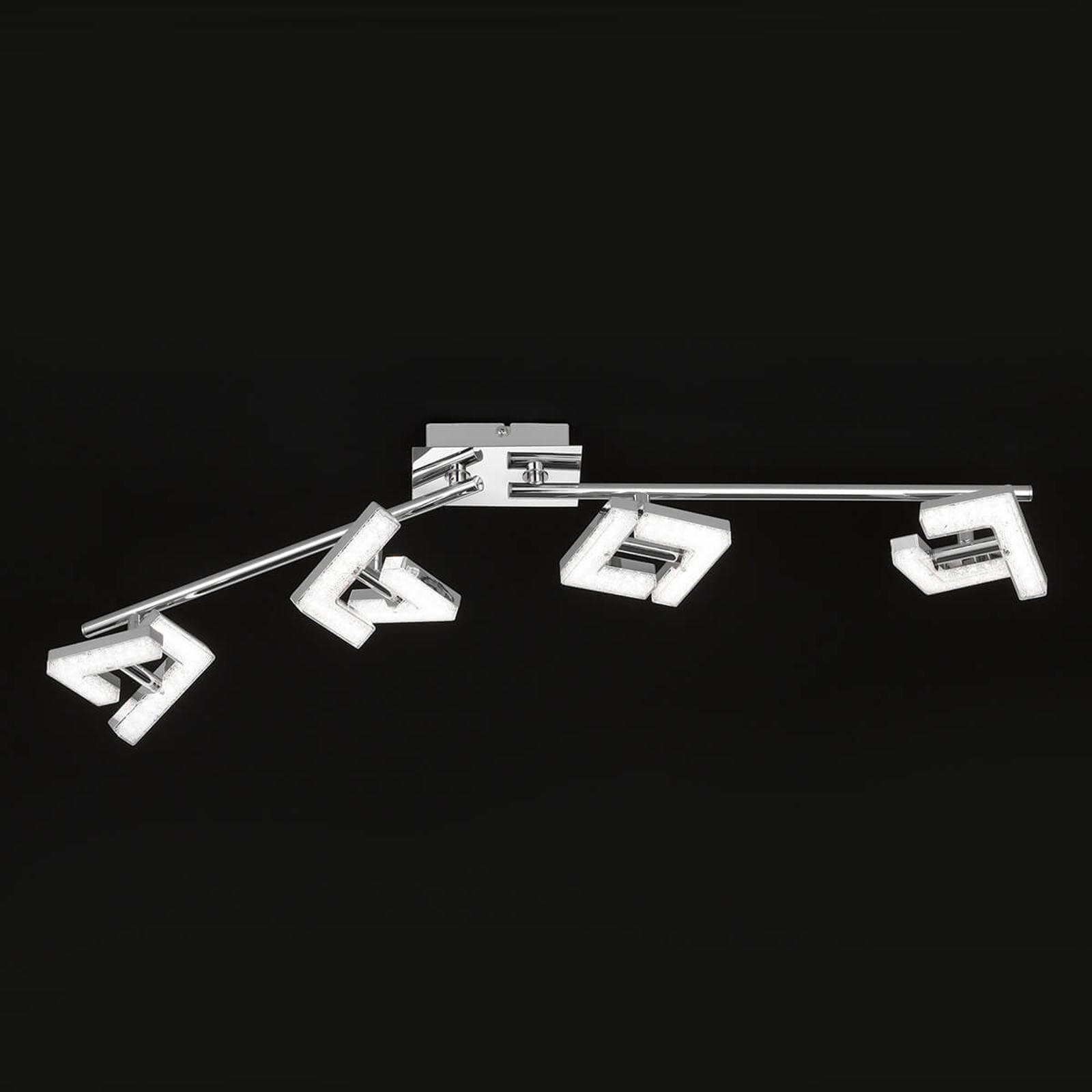 Moneensuuntaan säädettävä LED-kattovalaisin Lea