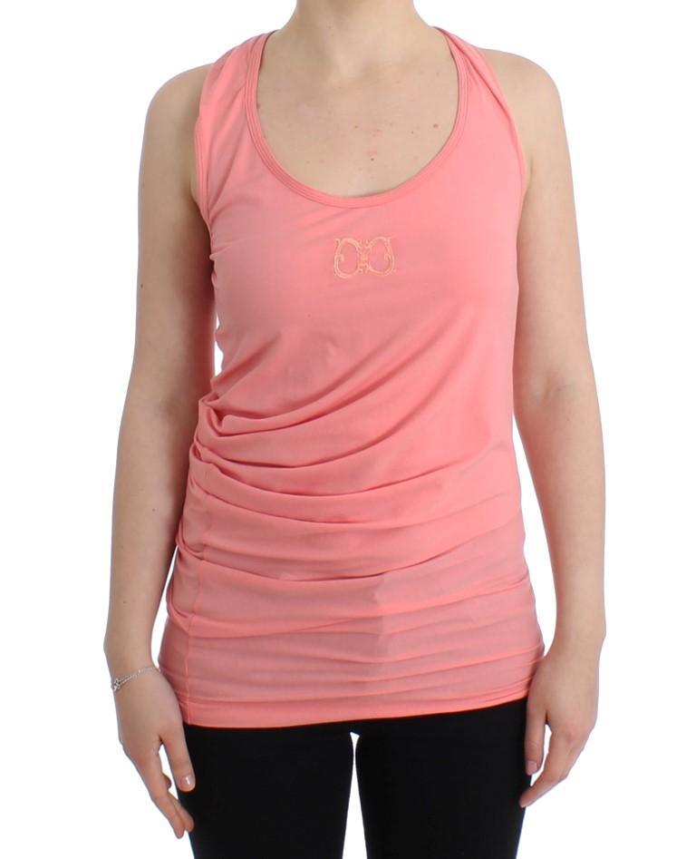 Cavalli Women's Tank Top Pink SIG11612 - IT50|3XL