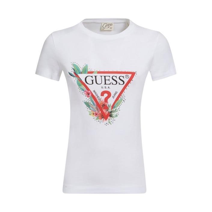 Guess Women's T-Shirt White 308067 - white XS