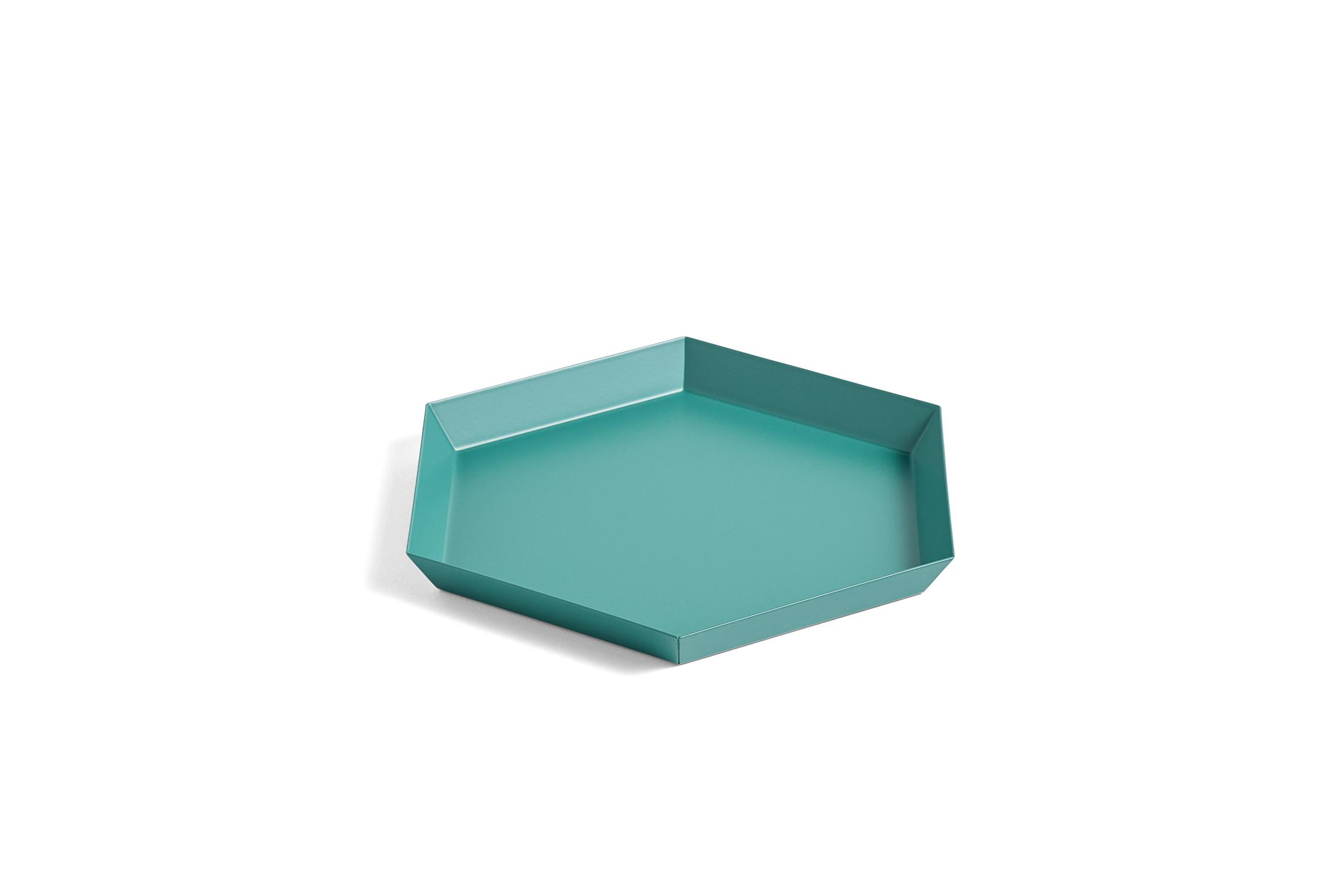 HAY - Kaleido Tray Small - Emerald Green (503936)