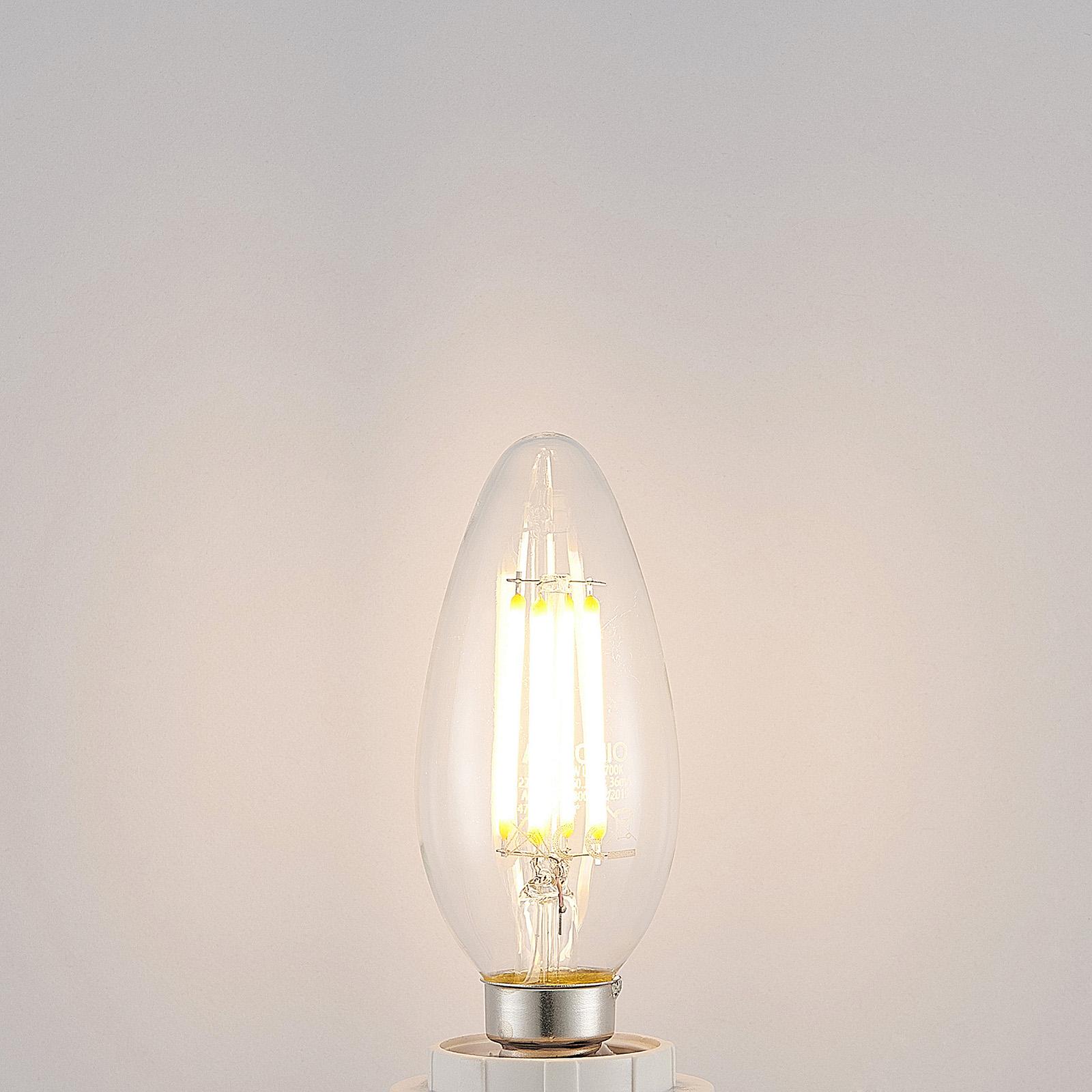 LED-lamppu E14 filamentti 4 W 2 700 K, 3-v. himm.
