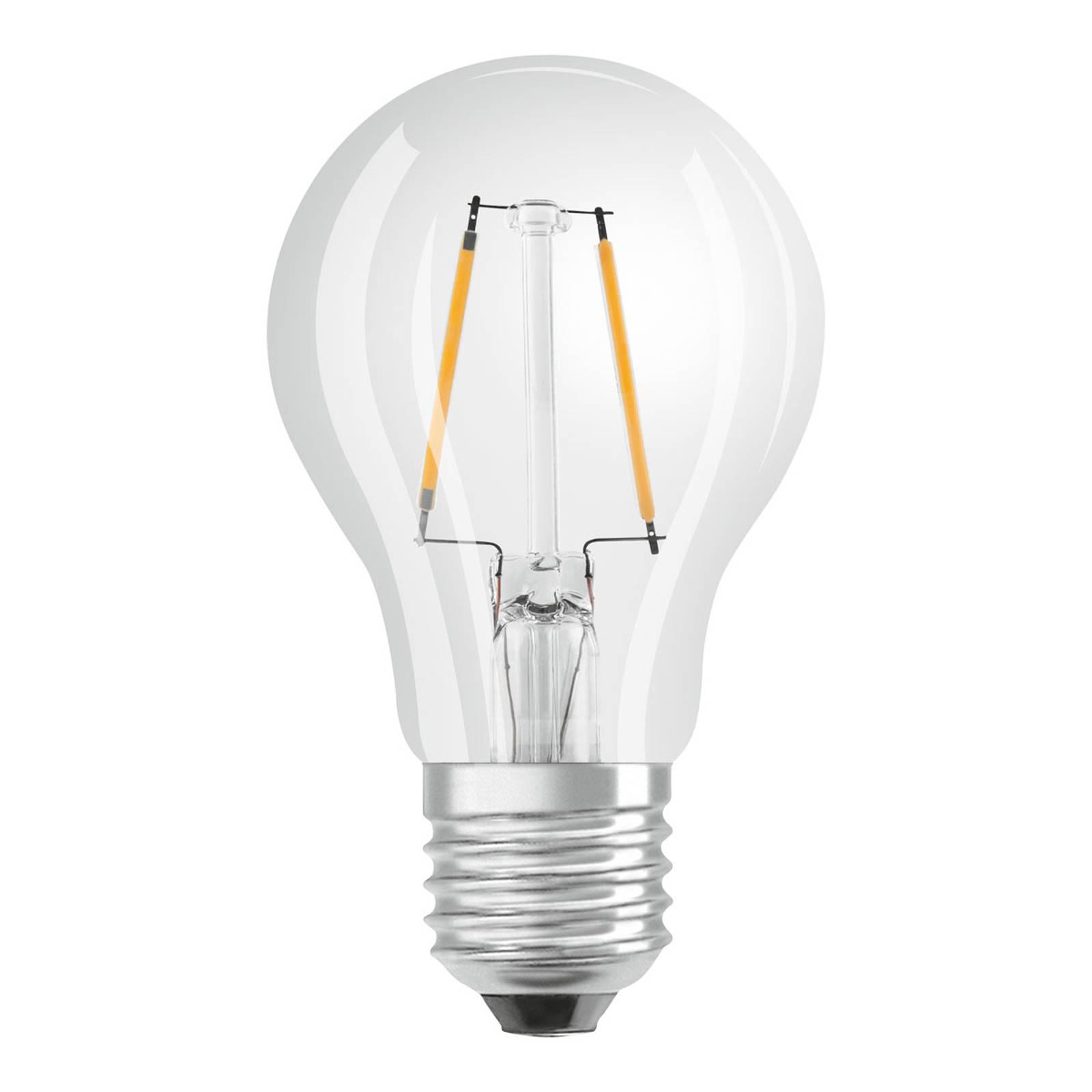OSRAM-LED-lamppu E27 2,8W Classic filament 2 700 K