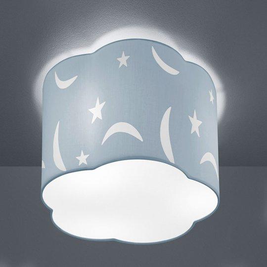 Kattovalaisin Moony 25 cm pastellin sininen