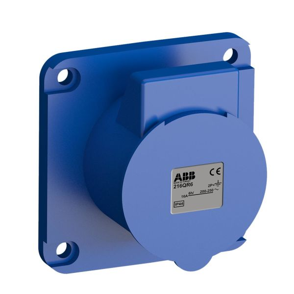 ABB 2CMA102289R1000 Paneelin ulostulo pikaliitettävä, tärinänkestävä Suora, 75 mm