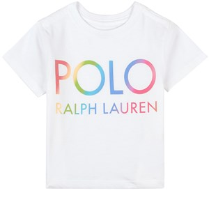 Ralph Lauren Logo T-shirt Vit 5 år