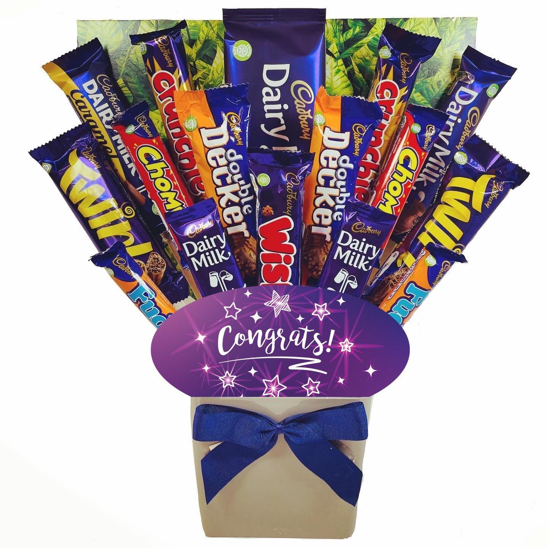 The Congrats Cadbury Chocolate Bouquet