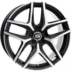 MSW 40 Black Polished 8x18 5/127 ET40 B71.6