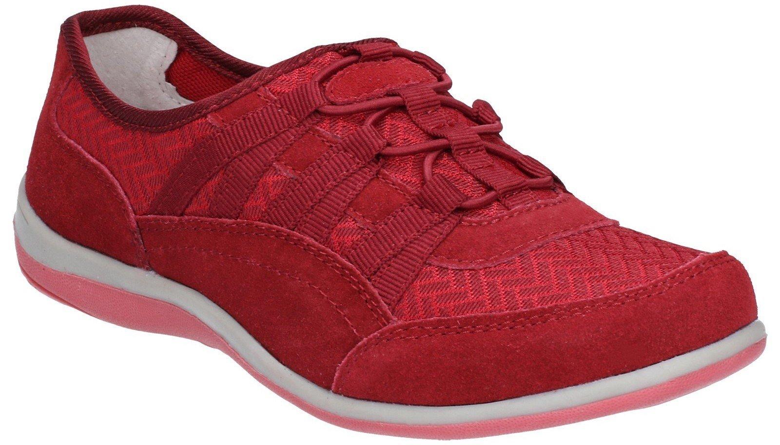 Fleet & Foster Women's Dahlia Trainer Various Colours 28258-47458 - Red 3
