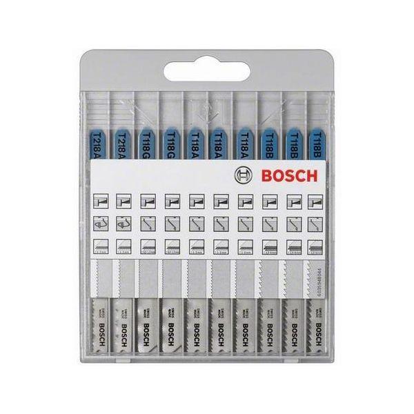 Bosch 2607010631 Basic for Metal Stikksagbladsett 10 deler