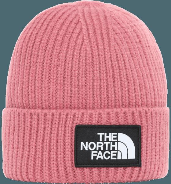 The North Face Logo Box Cuffed Beanie Mössor & Kepsar MESA ROSE