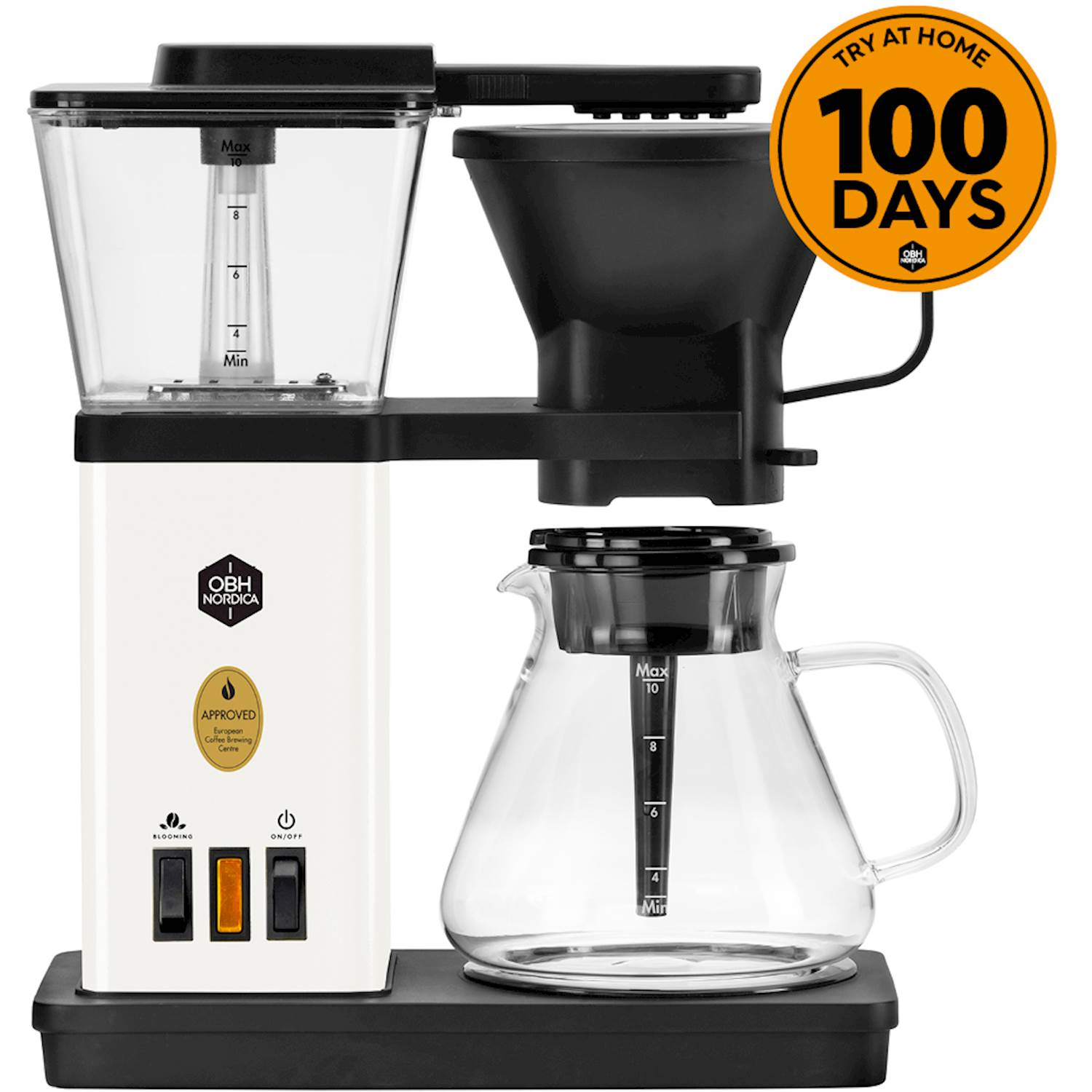 OBH Nordica Blooming coffee maker white