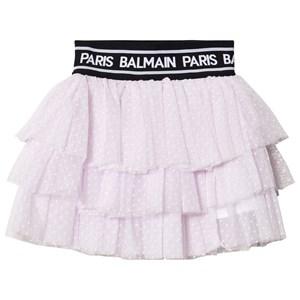 Balmain Glitter Branded Kjol Rosa 14 years