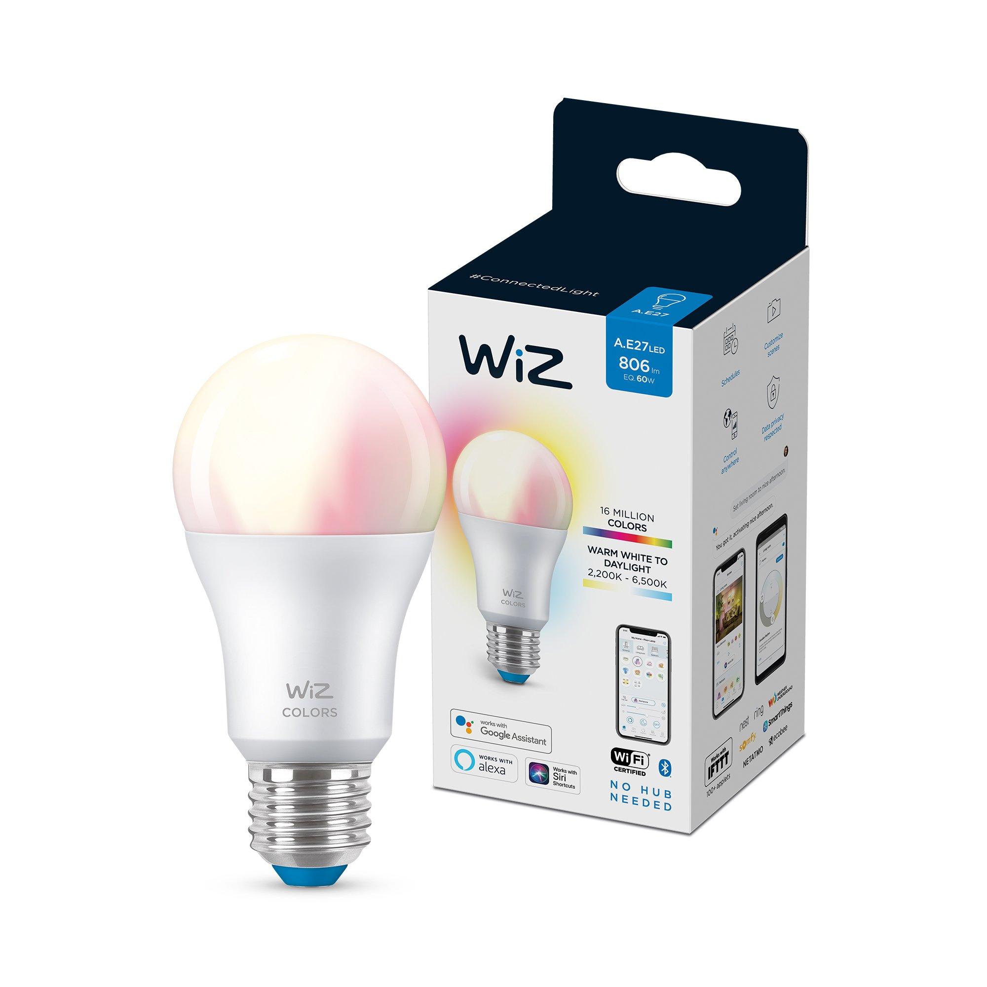 WiZ - A60 E27 Colour and Tunable White - Smart Home