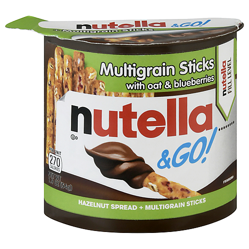 Nutella & Go! Oat & Blueberry Sticks 48g