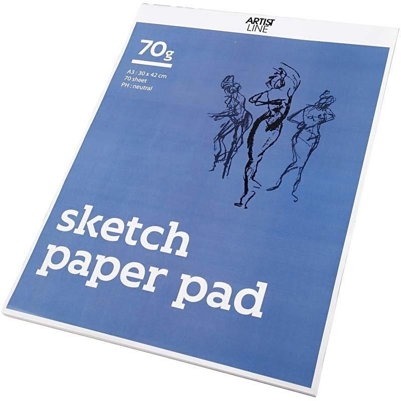 Sketch pad A3 (70 x70 g)