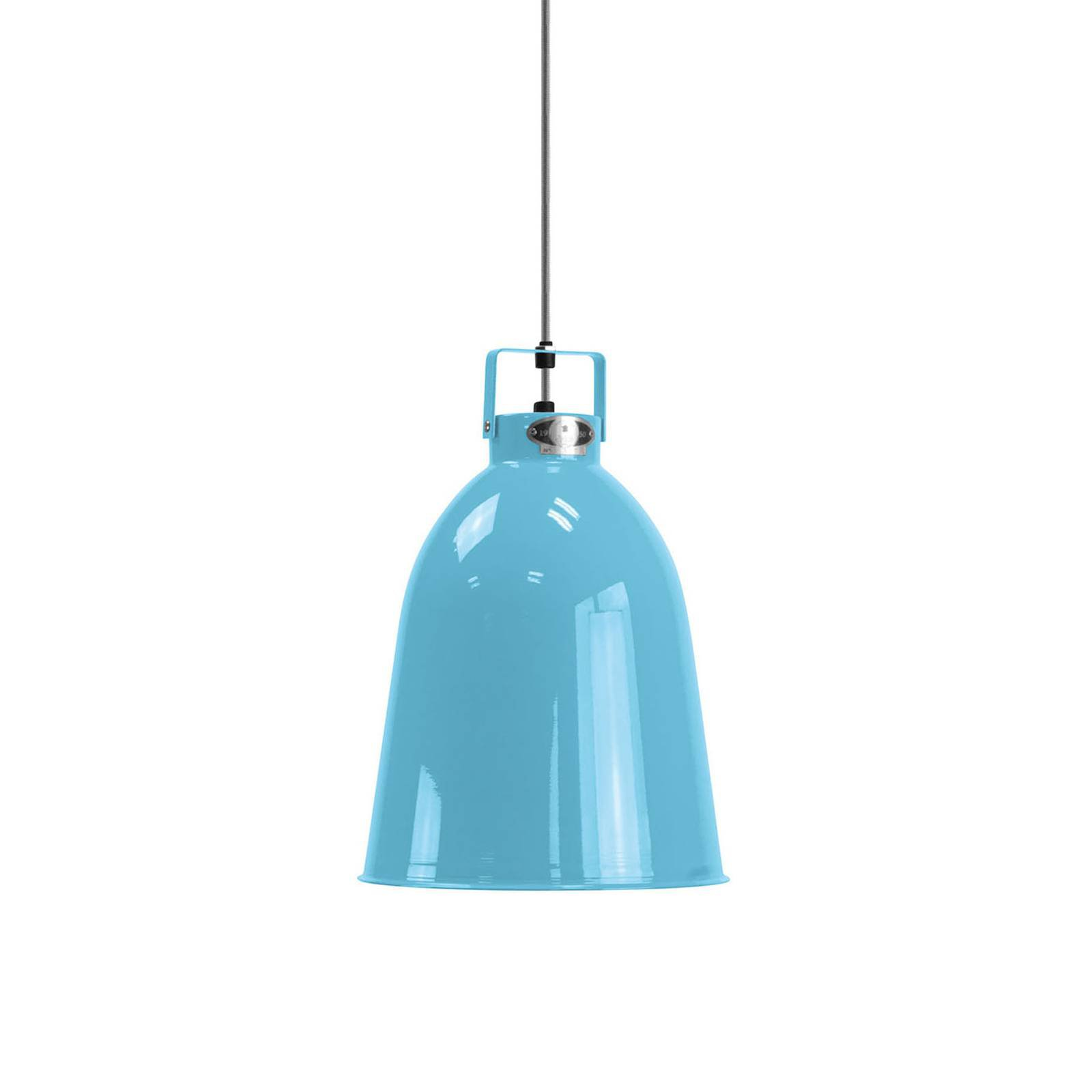 Jieldé Clément C240 hengelampe, lyseblå, Ø 24 cm