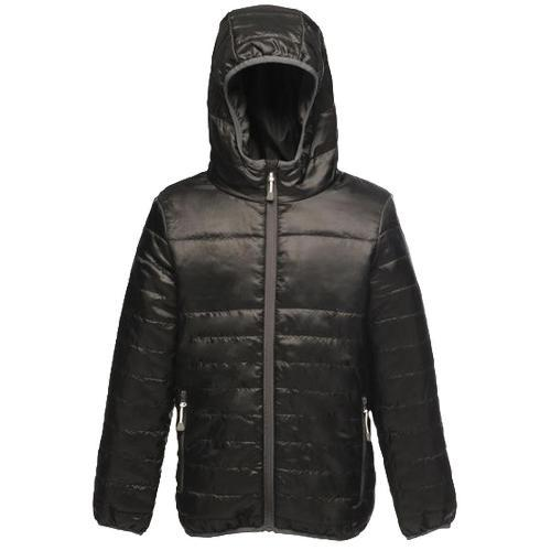 Regatta Kid's Stormforce Thermoguard Thermal Jacket Various Colours TRA454 - Black 3-4 Years