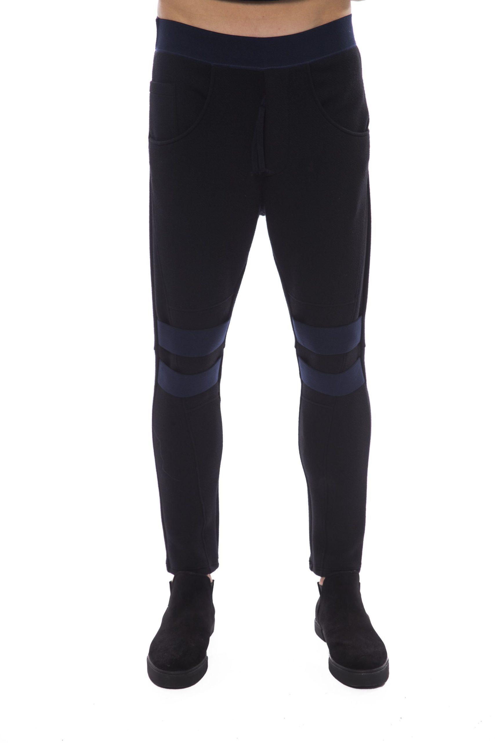 Nicolo Tonetto Men's Nero Trouser Black NI1394703 - S