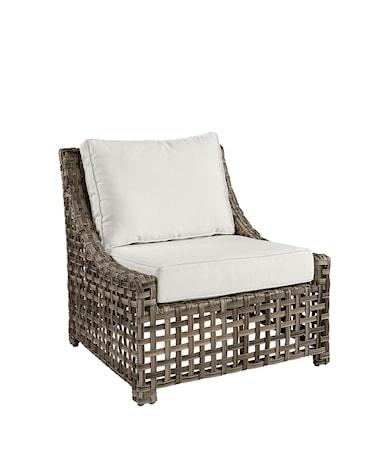 KEY LARGO Lounge Chair Classic grey