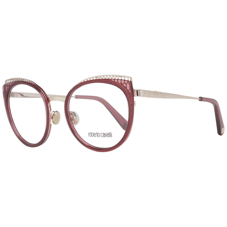 Roberto Cavalli Women's Optical Frames Eyewear Gold RC5114 53071