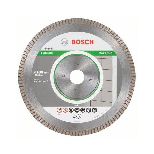 Bosch Best for Ceramic Extraclean Turbo Diamantkappskive 180x22,23mm