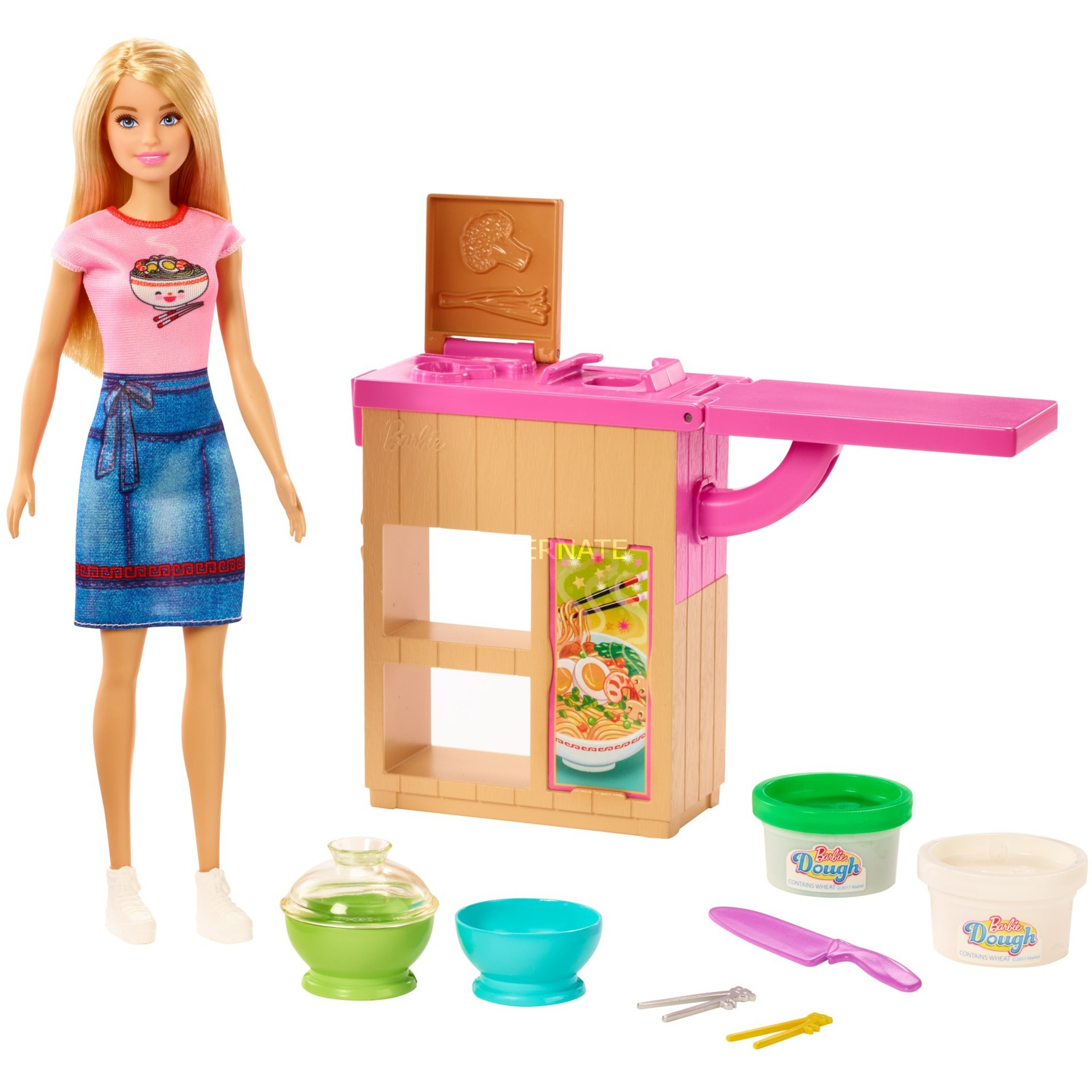 Barbie - Noodle Maker Doll and playset (GHK43)